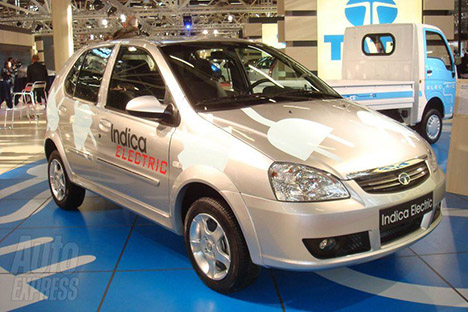 TATA's electric vehicle - TATA Indica Electric