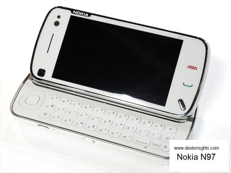 Nokia N97 - Full Keyboard