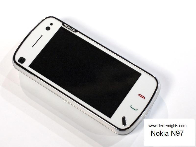 Nokia N97 - Front view dexternights