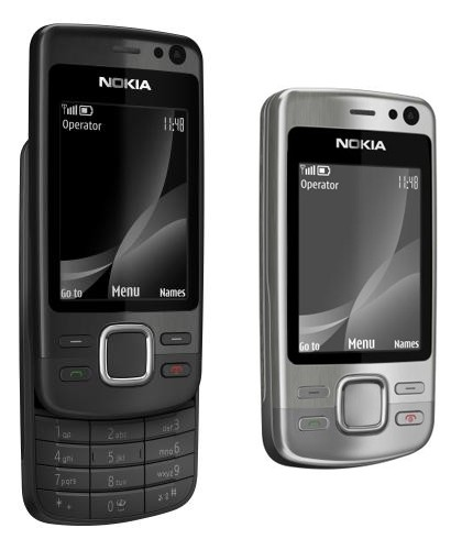Nokia 6600i Black and Silver