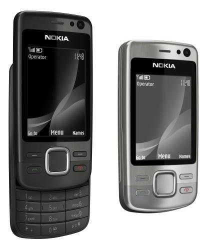 Nokia 6600i Black and Silver