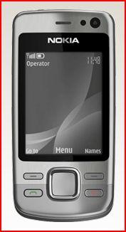 Galmarous and curvy Nokia 6600i laucnhed in 2009
