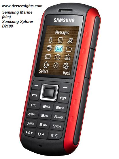 Samsung Marine B2100 Xplorer - Rough and Tough outdoor phone