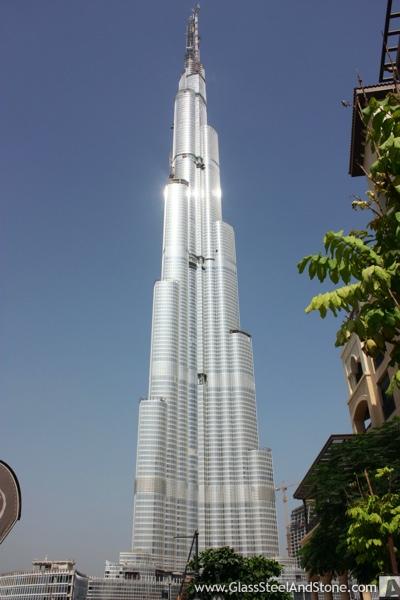 Burj Khalifa Aka Burj Dubai Tallest Building In The World
