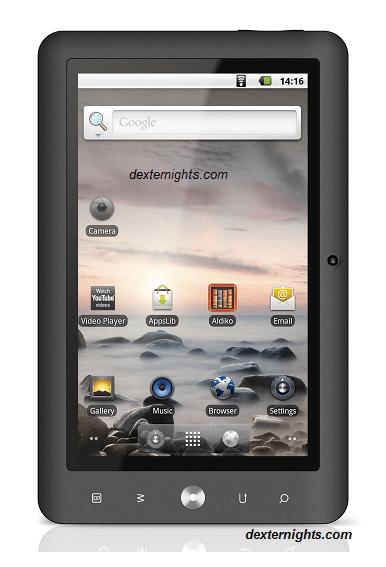 Android Tablets Review- Coby Kyros ,HeroTab , ASUS Eeepad ...